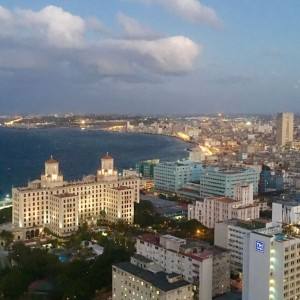 Hotel Nacional/Havana Bay--photo by Cheryl Lucanegro